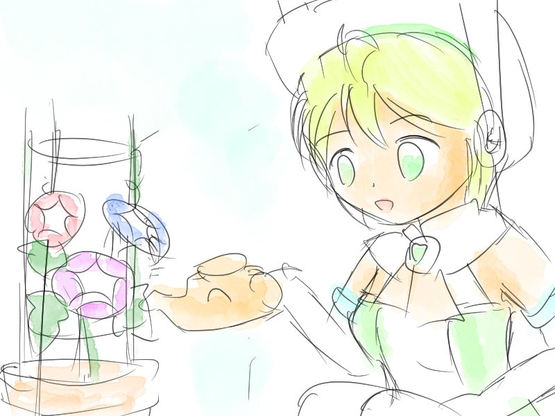 水っぽいスープ 🥣
